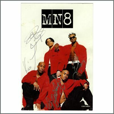 MN8 Autographed Columbia Records Promotional Photograph • 27.50£