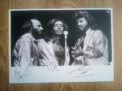 Bee Gees Signed Photograph Repro/Reprint A4 Print  • 4.99£