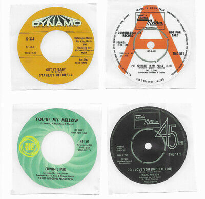 Northern Soul Record Label Stickers Pack Of 7 Frank Wilson/Revilot/Dynamo • 6.99£