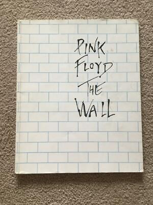 Pink Floyd:-The Wall -Piano Vocal Guitar Song Book  Roger Waters 0711910316 • 16£