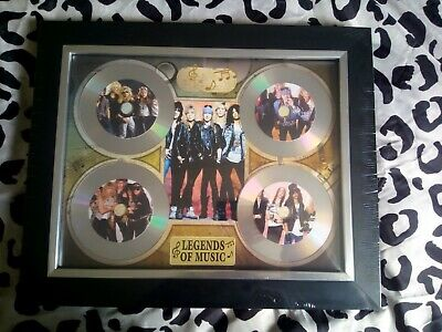 Guns N' Roses 4 X CD Picture Disc Montage In Black Frame *NEW AND SEALED* • 24.99£