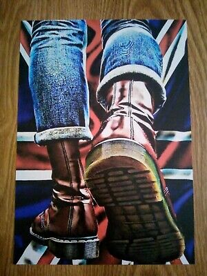 Doc Martens Ska / Skinhead A4 Print  (this Is A Relisting More Than 30 Sold) • 4.99£