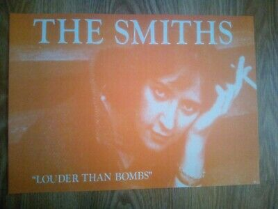 The Smiths / Morrissey 'Louder Than Bombs' Album Cover Repro/Reprint A4 Print  • 5.99£