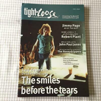 Led Zeppelin Fanzine / Magazine  Tight But Loose Issue 17 • 22.48£