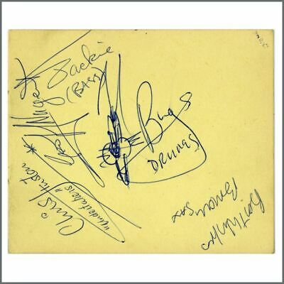 The Undertakers 1965 Autographs (UK) • 165£