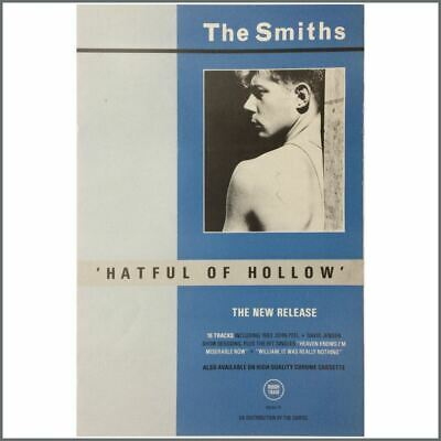 The Smiths 1984 Hatful Of Hollow Promotional Poster (UK) • 135£