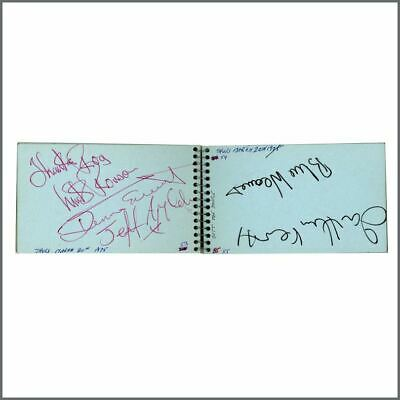 Mick Ronson Dennis Elliot Jeff Appleby Signatures Autograph Book (UK) • 550£