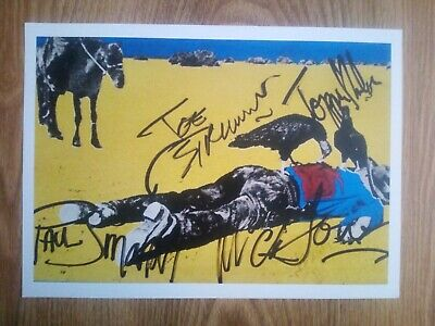 The Clash 'Give 'Em Enough Rope' Signed Album Art Repro / Print * ULTRA RARE* • 26.99£