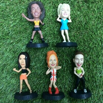 Spice Girls Figurines Set Rare Collectible 1997 Girl Power Toys Dolls • 17.99£