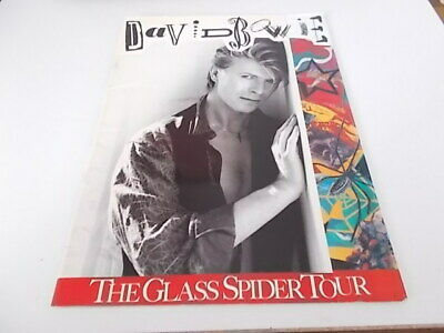 David Bowie Glass Spider Tour Programme And Ticket 1987 • 19.99£