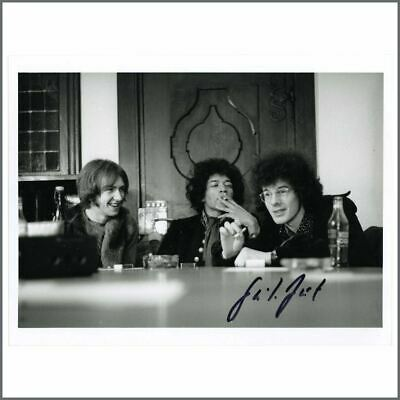 The Jimi Hendrix Experience Hamburg Gunter Zint Signed 1990s Print (Germany) • 50£