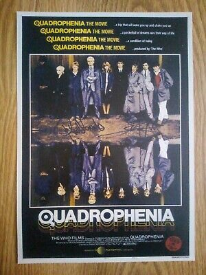 Quadrophenia / The Who Signed Photograph Repro/Reprint A4 Print  • 4.99£