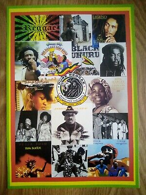 Reggae / One Love Photo Montage Poster A4 Repro / Print • 6.99£
