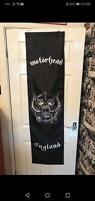 Motorhead Lemmy Ace Of Spades Heavy Metal Banner • 12£