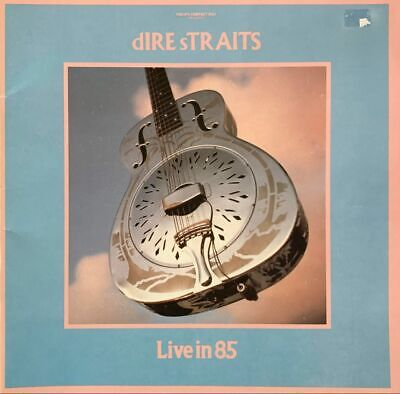 Dire Straits - Live In 85 World Tour 1985 (Programme) (VG-) • 10.99£