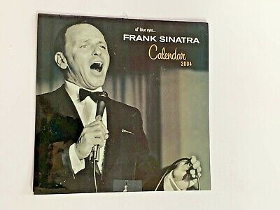 **frank Sinatra Official Uk Annual Calendar 2004 Pre-owned** • 19.99£