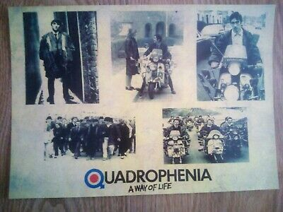 Quadrophenia / The Who Photo Montage Repro/Reprint A4 Print  • 4.99£