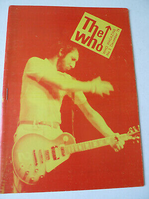 THE WHO Magazine Fanzine #3 December 1979 Townshend Daltrey • 7.99£