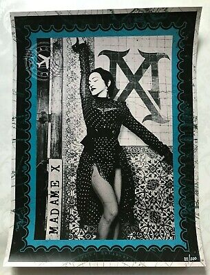 Madonna Madame X Tour Lithograph Poster Citi Exclusive Limited Numbered Edition  • 325£
