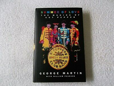 Autographed Signed Book GEORGE MARTIN - Summer Of Love, 1994 1st Edition BEATLES • 304.99£