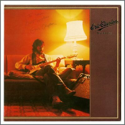 Eric Clapton Autographed Backless LP • 825£