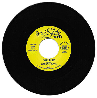 Wendell Watts  You Girl / Kiss A Good Thing Goodbye Northern Soul • 9.99£