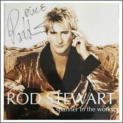 Rod Stewart Autographed 1995 A Spanner In The Works Concert Programme • 82.50£