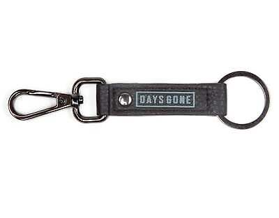 Days Gone Keyring Keychain Faux Leather Logo New Official Gamer Black One Size • 6.95£
