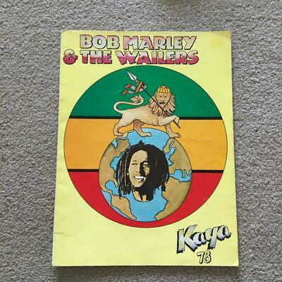 Bob Marley & The Wailers Tour Programme 1978 Kaya USA/Canada Tour • 60£