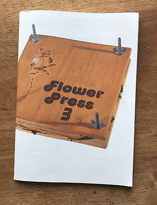Beta Band Fanzine Flower Press Issue 3 2001 Signed John Maclean  Jeremy Deller  • 10£