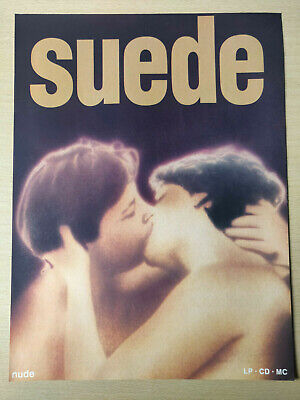 SUEDE 'Suede' - Full Page Magazine Advert Picture - Debut Album 1993 London • 5.95£
