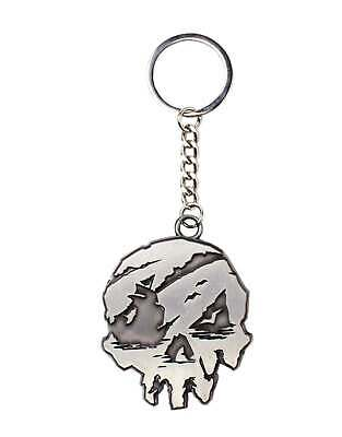 Sea Of Thieves Keyring Keychain Skull Logo New Official Grey One Size • 4.95£