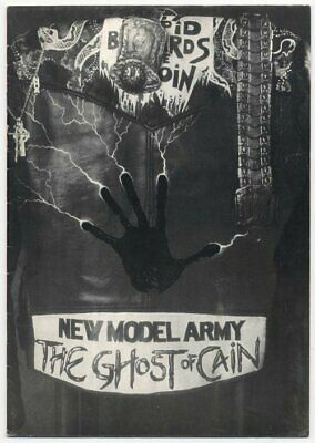 New Model Army L'amourder 1986 Programme • 40£