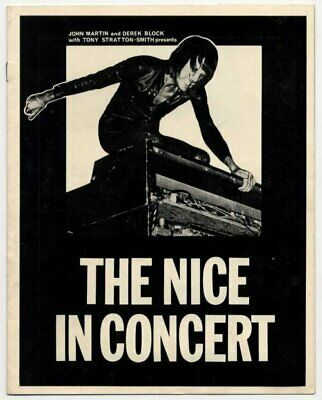 The Nice Keith Emerson 1969 Programme  • 30£