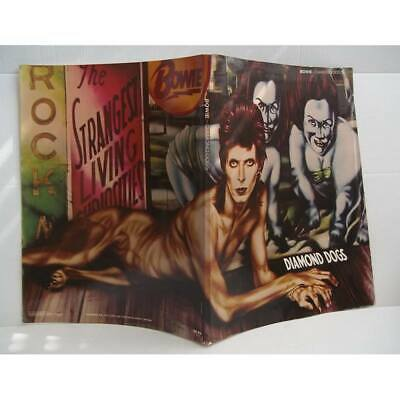 David Bowie Diamond Dogs Album Sheet Music 1974 RARE • 14.50£