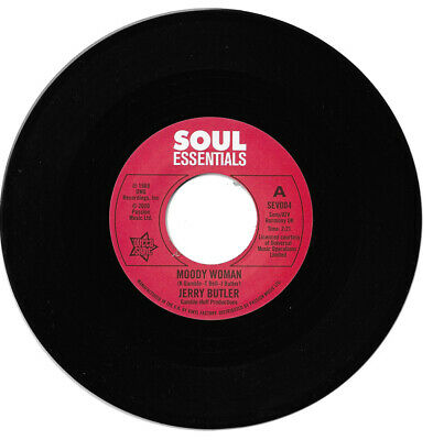 Jerry Butler Moody Woman / Stop Steppin' On My Dreams Northern Soul • 9.99£