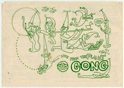 Gong Price List No.1 Flyer • 30£