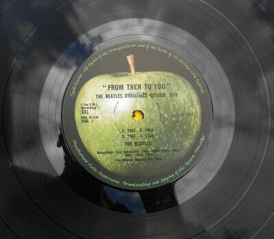 Beatles 'From Then To You' Original 1970 Fan Club LP * Near Mint +++ Unplayed* • 99£