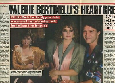Valerie Bertinelli Rare Collection 14 Clips 1987-1989; Archive Of The Eighties • 7.98£
