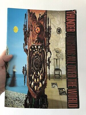 Thunder World Tour Concert Programme Laughing All Over The World Book RARE • 14.99£