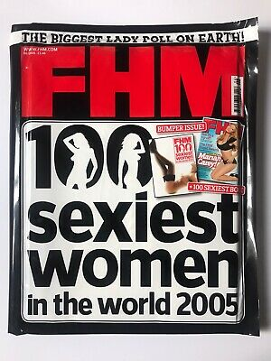 **mariah Carey Fhm Sexiest Women Magazine 2005 Uk Special Edition Sealed New** • 49.99£