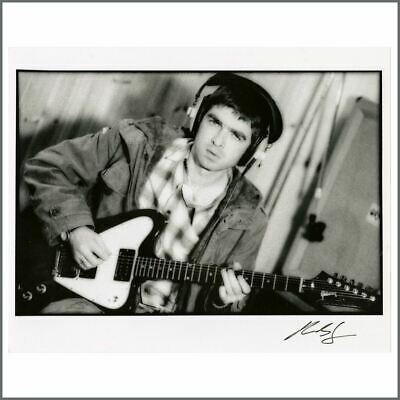 Oasis Noel Gallagher 1995 Some Might Say Recording Loco Studios Wales Photo (UK) • 105£