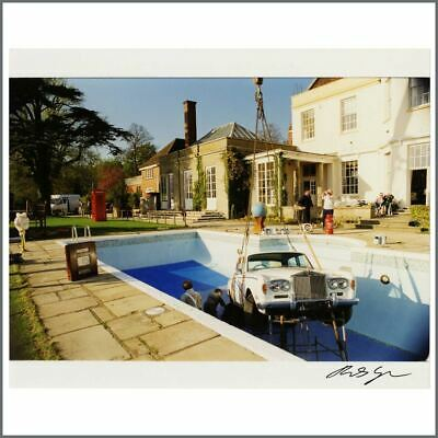 Oasis 1997 Be Here Now Photoshoot Michael Spencer Jones Signed Photograph (UK) • 215£