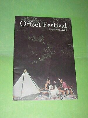 Offset Festival 2008 Official Programme Wire Gang Of Four Metronomy My Vitriol • 5.99£