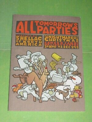 ATP 2012 Nightmare Before Christmas Shellac Programme All Tomorrows Parties • 5.99£