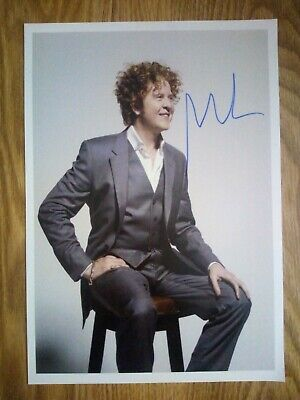 Simply Red / Mick Hucknall Signed Photograph Repro/Reprint A4 Print  • 4.99£