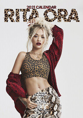 Calendar - Rita Ora 2021 Wall Calendar - Includes 70 Coloured Dot Stickers • 12£
