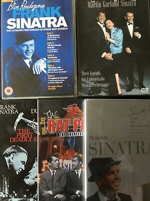 FRANK SINATRA - Collection Of DVDs - 9 DVDs - Concerts, Documentaries, Movies... • 5£
