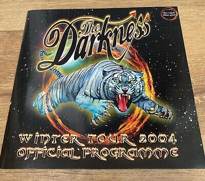 The Darkness- Official Tour Programme 2004 • 4.50£