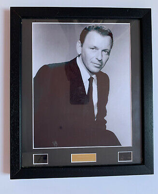 *frank Sinatra Framed None But The Brave Movie Cell With Coa - Limited Edition* • 39.99£